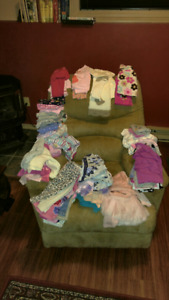 Lot of 6-9 month old baby girl winter clothes