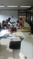 Sewing lesson with Solidrock Fashion Designer