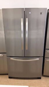 ◆ECONOPLUS STAINLESS KENMORE FRENCH DOOR FRIDGE 849 $ TX INCL ◆