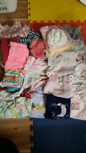 baby girl lot 0-12 months