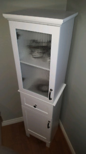 New never used bathroom cabinet