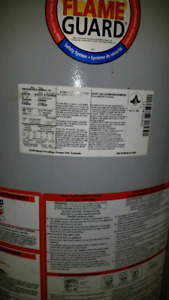 Free water heater, excellant condition