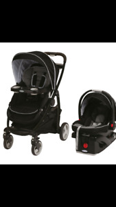 Graco click connect stroller/Carseat