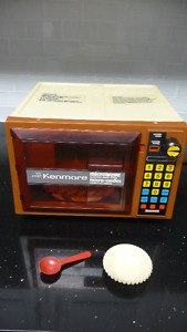 *VINTAGE* 1978 Kenmore Microwave Bake Oven w/Box **WORKS**