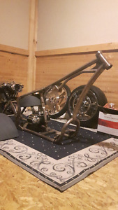 Pro Street Chopper Piece Built Project for Sale or Trade