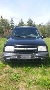 03 Chevy tracker auto 4x4 mud truck or parts