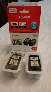 Canon 210XL Black ink cartridge (2)