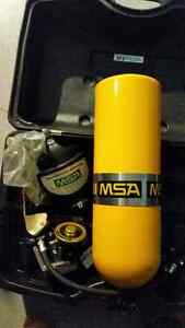MSA SCBA with air cylinder