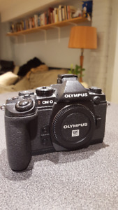Olympus OM-D E-M1  Digital Camera + Olympus Lenses