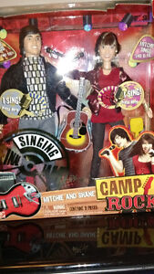 MITCHIE AND SHANE SINGING DOLLS CAMP ROCK NIB