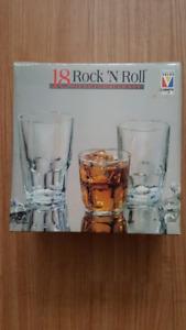 Rock 'N Roll 18 Piece Tumbler Set