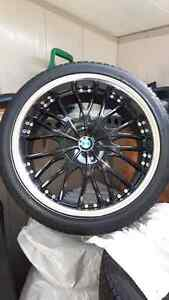 BMW 20 inch tires and rims London Ontario image 1