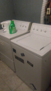 Washer and dryer  make a offer text only 818-2247