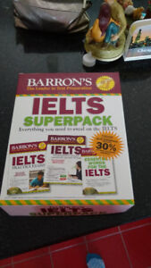 Barron's IELTS Superpack, 2nd Ed (Books & CDs)- New. Never used!