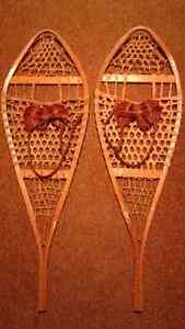Raquettes à neige traditionnelles modèle Huron