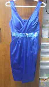 Brand new blue dress perfect for the holidays!