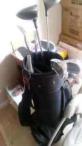 Complete Golf Set with Balls, gloves and Bag