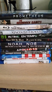 50 assorted Blu Ray dvds