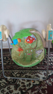 Swing for baby good condition