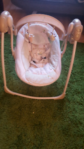 Portable glider swing for Baby