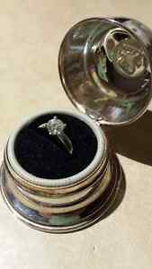 Birks Diamond Engagement Ring in Brand New condition