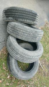 235 65 R17 Michelin Latitude X Green All season tires