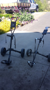 2 pull carts for $ 20