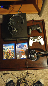 PS 4 and turtle beach head set