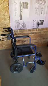 Invacare Transport with 12'' Rear Wheels