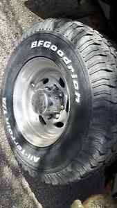 4 BF Goodrich tires and Eagle alloy rims