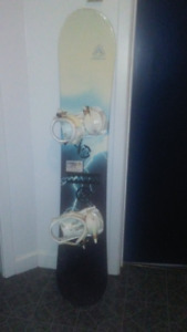 SNOWBOARD, BINDINGS & BOOTS _ $250 if picked up by Dec. 1st!