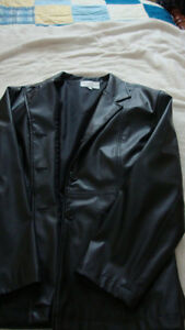 Womens faux leather jacket   Newmarket