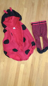 18 month - halloween ladybug outfit