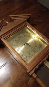 Vintage Wall Clock w/ Weather Station