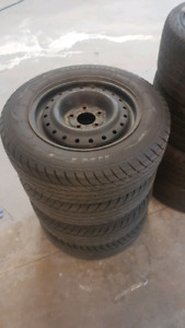 195/65R15 runway snow tires and wheels for Honda CIVIC