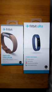 Fitbit Alta fitness tracker unopened/sealed