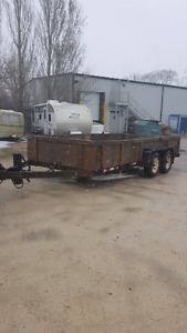 Car hauler 16ft flatdeck trailer