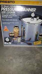 Canning pressure cooker.
