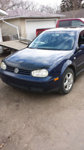 2001 Volkswagen  golf  5 speed PRICE REDUCED $2400 OBO