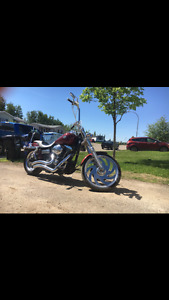 Harley Davidson dyna wide glide for sale.