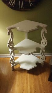 ANTIQUE CORNER SHELVING UNIT!!!!!!