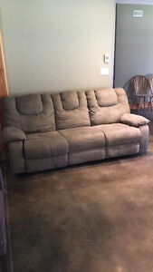 Like new reclining couch