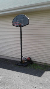 OFFICIAL SIZE BASKETBALL NET WITH 4 BASKETBALLS