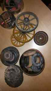 Box Lot of Vintage Tires Wheels for Old Toys London Ontario image 3