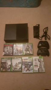 Xbox One plus games for sale