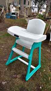 "Children""s high chair."