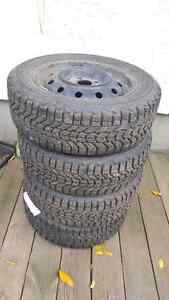 185/60R14 winterforce snow tires - 2009 suzuki swift