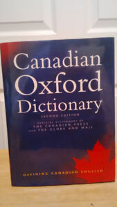 Canadian Oxford Dictionary (English)