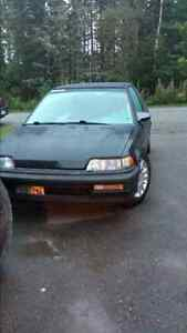 91 honda  civic hatchback EF