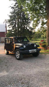 2007 Jeep Wrangler unlimited sarhara